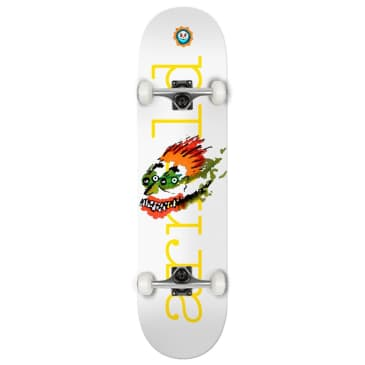 """Isle Skateboards - Mike Arnold - Face Drawing - Complete Skateboard - 8.5"""""""