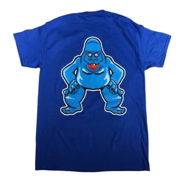 RELIEF ABOMINABLE SNOWMAN TEE BLUE