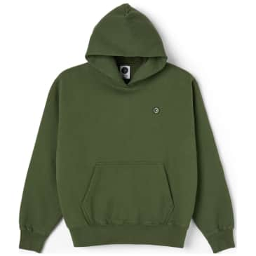 Polar Skate Co Patch Hoodie - Hunter Green