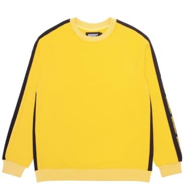 Hockey Raglan Crew - Yellow