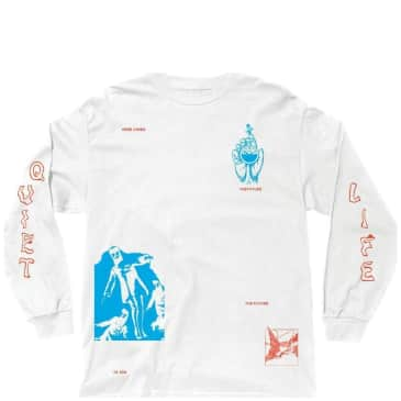 The Quiet Life Times Long Sleeve T-Shirt - White