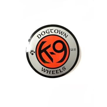 Dogtown Skateboards K-9 Wheels Circle Sticker