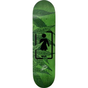 Girl Smoke Session Tyler Pacheco Skateboard Deck - 7.75""