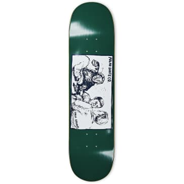 "Polar Paul Grund Cold Streak Dark Green Skateboard Deck - 8"""