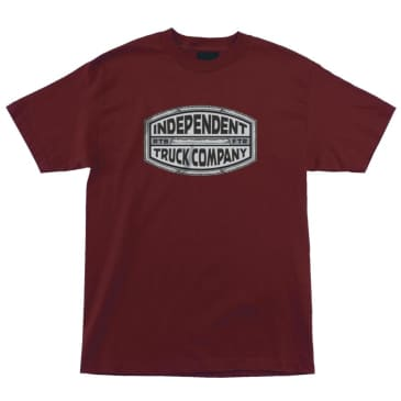 INDEPENDENT ITC Curb Tee Burgundy