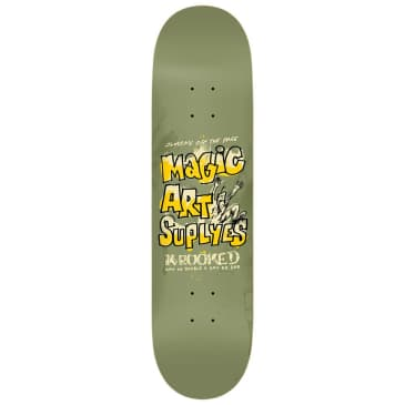 "Krooked Skateboards - Magic Art Suplyes Deck 8.75"" Wide"