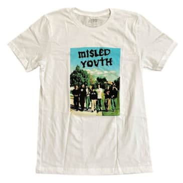 ZERO MISLED YOUTH COVER S/S - WHITE
