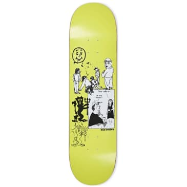 "Polar Nick Boserio Year 2020 Moss Green Skateboard Deck - 8.25"""