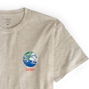 Habitat x NASA Earth Observer T-Shirt - Tan Heather