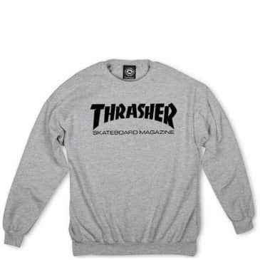 Thrasher Skate Mag Sweatshirt - Grey