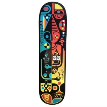 "Darkroom Skateboards Mysterio Skateboard Deck 8"""