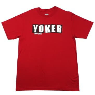 Focus Yoker T-shirt - Red