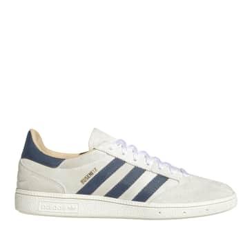 adidas Skateboarding Busenitz Vintage Shoes - Crystal White / Legacy Blue / Chalk White
