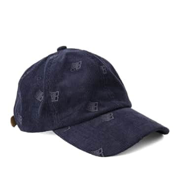 Bronze 56k Allover Embroidered Cap - Navy