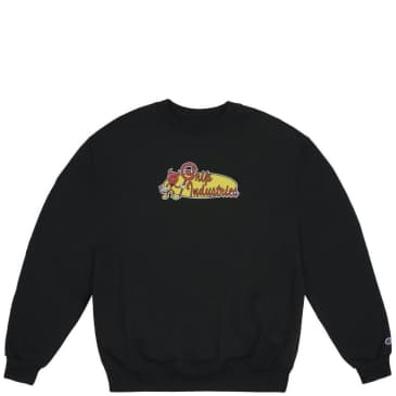 Classic Grip Grip Industries Crew Neck - Black