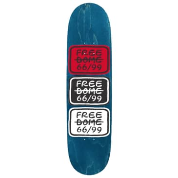 "Free Dome Skateboards - Stacked Deck 8"" Wide"