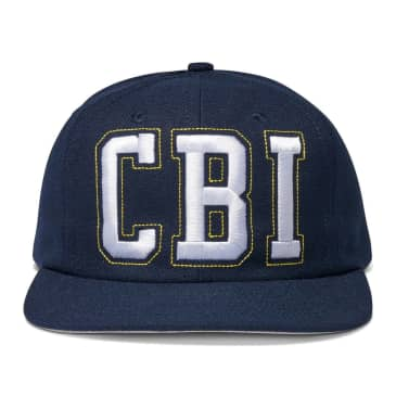 Central Bookings Academy 6 Panel Cap - Navy