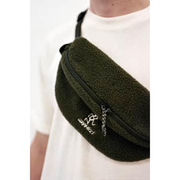 Boa Fleece Body Bag Olive