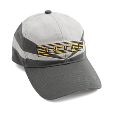 Bronze 56k Sports Snapback Hat - Grey / Charcoal
