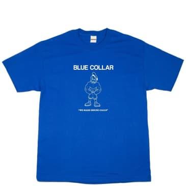Blue Collar Donald T-Shirt - Royal
