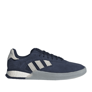 adidas Skateboarding 3ST.004 Shoes - Collegiate Navy / Grey One / Cloud White