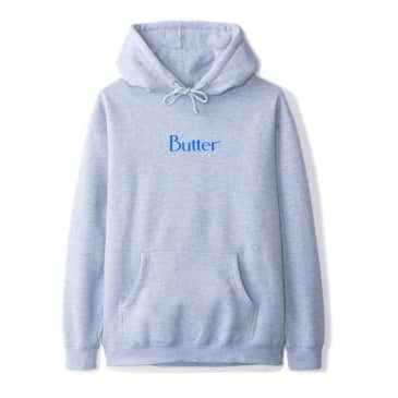 Butter Classic Logo Pullover Hoody Heather Grey