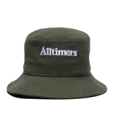 Alltimers Neighbours Fishing Bucket Hat - Forest Green