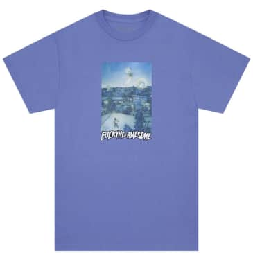 Fucking Awesome Helicopter T-Shirt - ~Violet