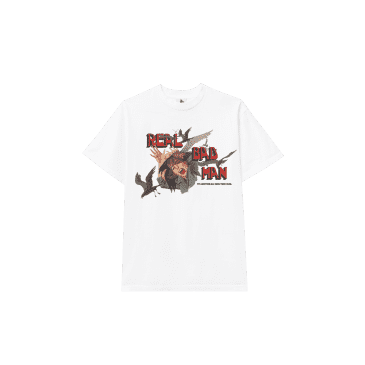 Real Bad Man Attack Of The Avian Dinos T-Shirt - White