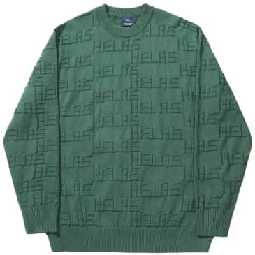 Hélas On Repeat Knit - Green