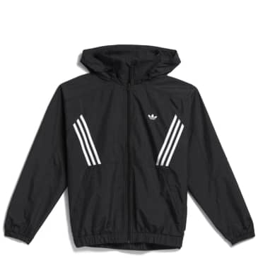adidas Skateboarding Primeblue Workshop Windbreaker - Black / Grey Six / White