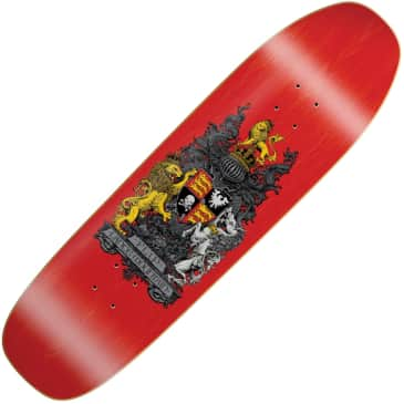 """Flip Lance Mountain Crest stained deck (9"""" x 32.5"""")"""