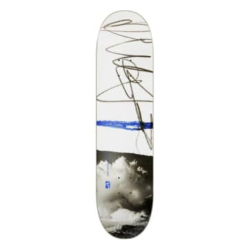 Poetic Collective Sketch / Cloudy Skateboard Deck - 8.00