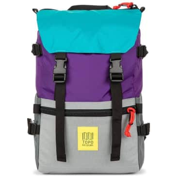 Topo Rover Pack Classic - Purple / Silver / Turquoise
