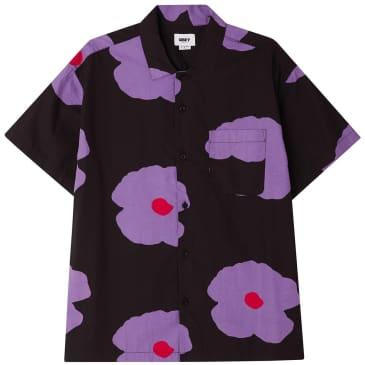 OBEY Evens Resort Shirt - Black / Multi