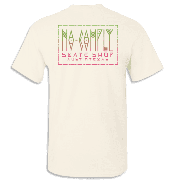 No-Comply Mexican Blanket Shirt - Cream/Green