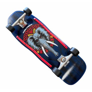 Powell Peralta Complete Mike Vallely Elephant Navy 10x30.1