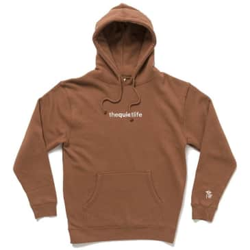 The Quiet Life Origin Embroidered Hoodie - Sable