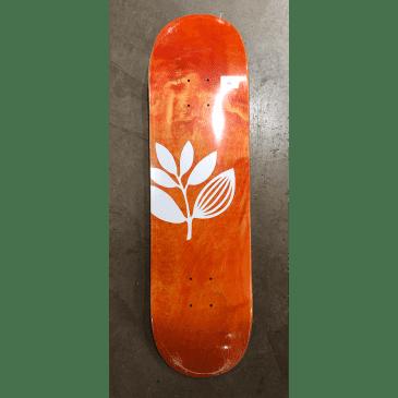 Magenta Big Plant Team Skateboard Deck
