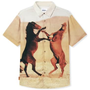 Butter Goods Horses Short Sleeved Shirt - Multi