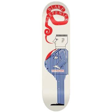 """Toy Machine Carpenter Suit Skateboard Deck 8.13"""""""