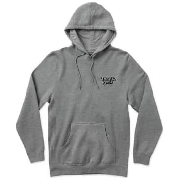 Thank You Thank You Logo Hoodie - Grey