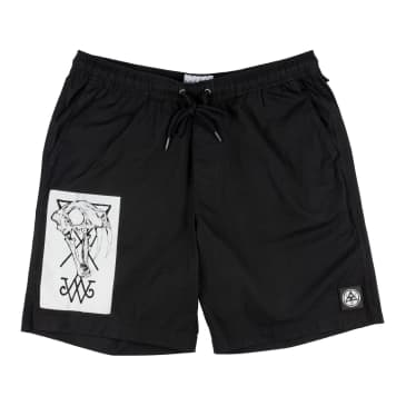 WELCOME Soft Core Elastic Shorts Black