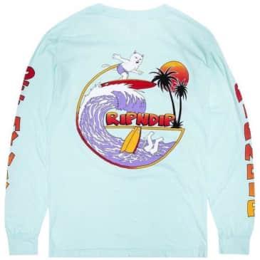 Ripndip Off My Wave Long Sleeve T-Shirt - Aqua