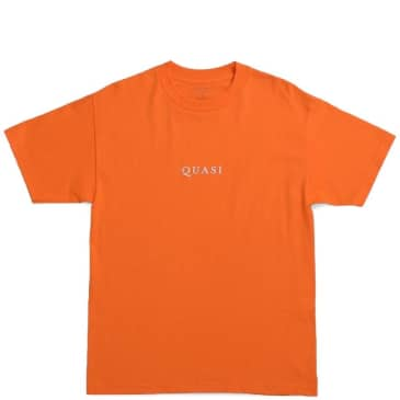 Quasi Logo T-Shirt - Texas Orange