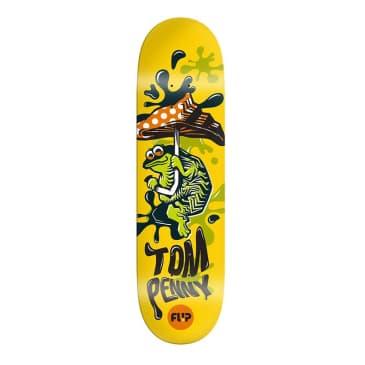 """Flip Penny Tin Toy 8.4"""" Deck"""