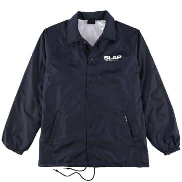 HUF x Slap Coach Jacket - Navy