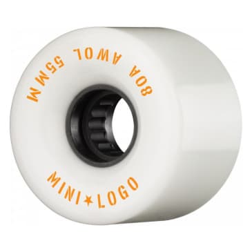 Mini Logo- AWOL Cruiser Wheels 55mm White