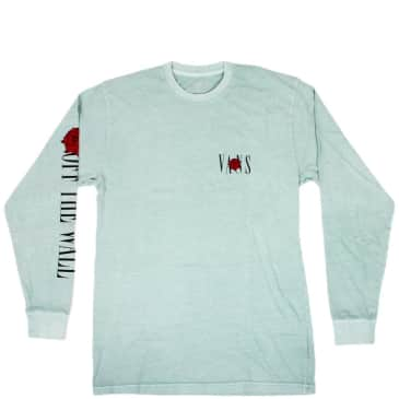 Vans Kyle Walker Rose Long Sleeve Shirt - Surf Blue