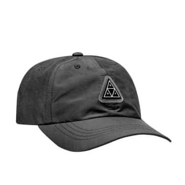 HUF Aurora Curved Visor 6-Panel Hat - Black